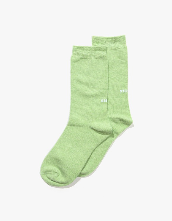 Stussy Everyday Socks - Lime | HEIGHTS. | 하이츠 온라인 스토어