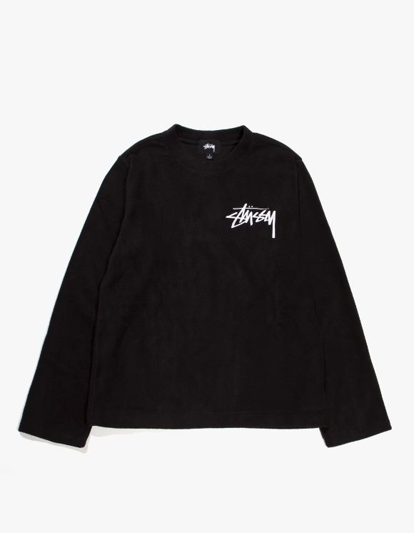 Stussy Terra LS Polar Fleece - Black | HEIGHTS. | 하이츠 온라인 스토어