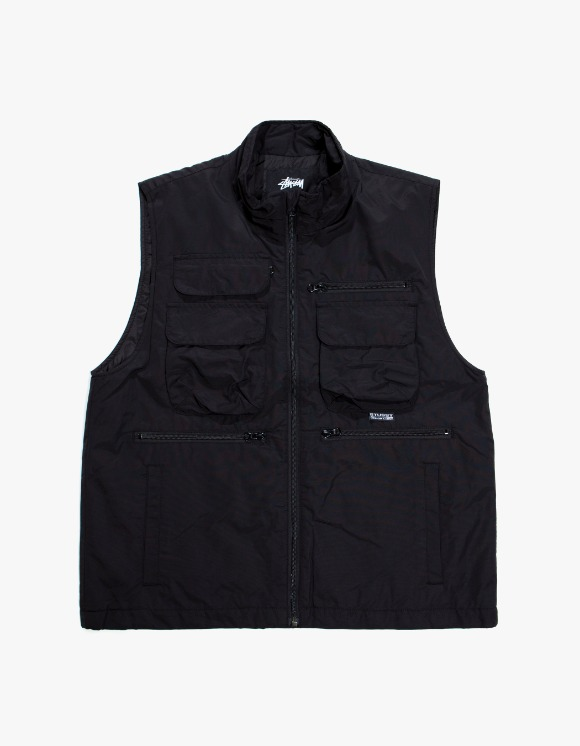 Stussy Highland Vest - Black | HEIGHTS. | 하이츠 온라인 스토어