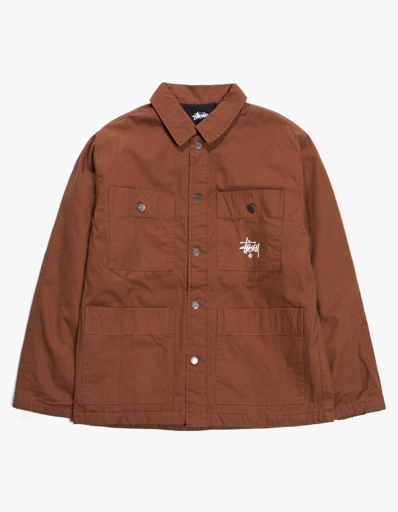 Stussy Quilted Chore Coat - Brown | HEIGHTS. | 하이츠 온라인 스토어