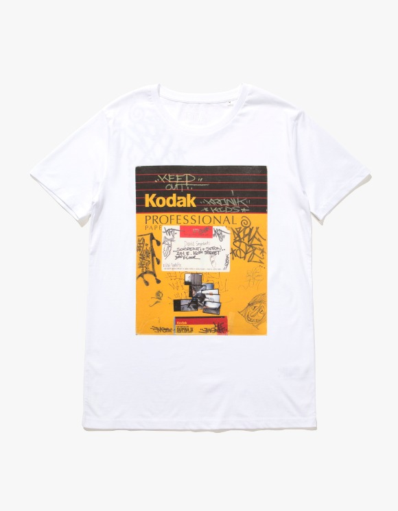 IDEA Davide Sorrenti Kodak T-shirts - White | HEIGHTS. | 하이츠 온라인 스토어