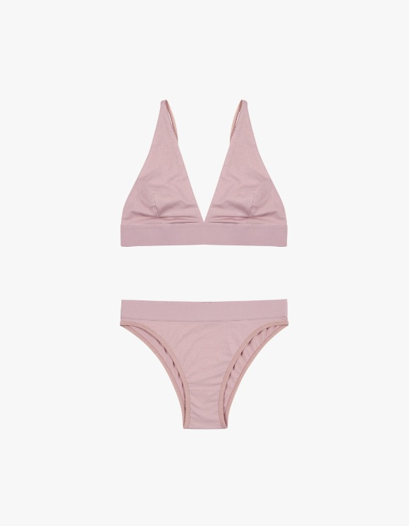 Dohyo Wide Banded Set - Pink | HEIGHTS. | 하이츠 온라인 스토어