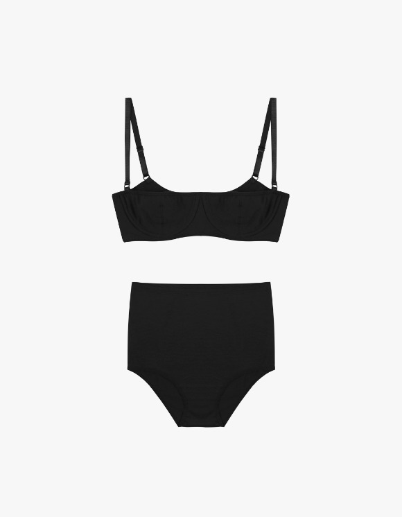 Dohyo Minimal Half Cup Set - Black | HEIGHTS. | 하이츠 온라인 스토어