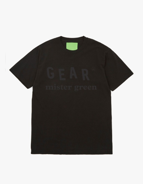 Mister Green Mister Green™ Gear Logo Tee - Black | HEIGHTS. | 하이츠 온라인 스토어
