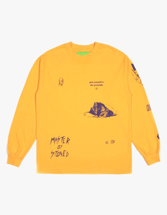 Mister Green Multi L/S Tee - Yellow | HEIGHTS. | 하이츠 온라인 스토어