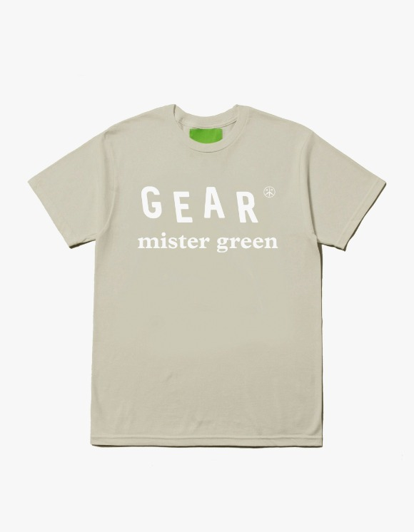 Mister Green Mister Green™ Gear Logo Tee - Natural | HEIGHTS. | 하이츠 온라인 스토어