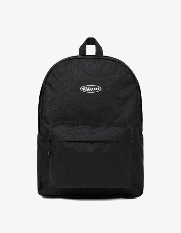 KIRSH KIRSH POCKET CIRCLE LOGO BACKPACK JS - BLACK | HEIGHTS. | 하이츠 온라인 스토어