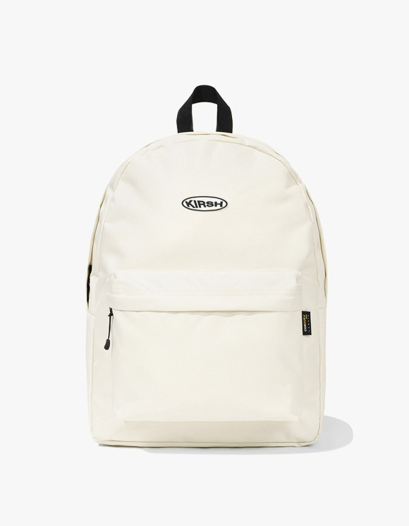 KIRSH KIRSH POCKET CIRCLE LOGO BACKPACK JS - IVORY | HEIGHTS. | 하이츠 온라인 스토어