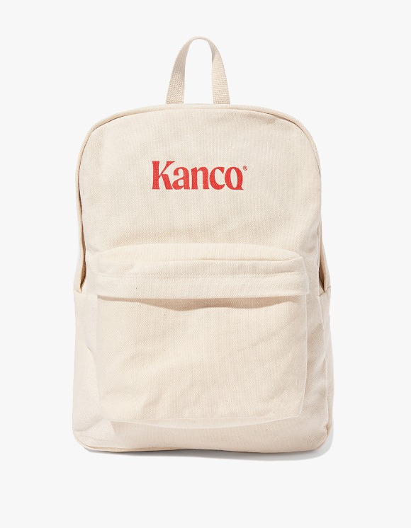 KANCO KANCO CANVAS BACKPACK Ivory | HEIGHTS. | 하이츠 온라인 스토어