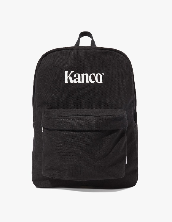 KANCO KANCO CANVAS BACKPACK black | HEIGHTS. | 하이츠 온라인 스토어