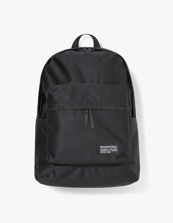 thisisneverthat CORDURA® Satin Daypack - Black | HEIGHTS. | 하이츠 온라인 스토어