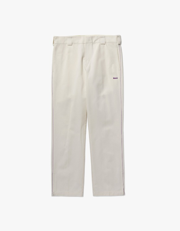 Fuzz FUZZ SIDE ZIP PANTS cream | HEIGHTS. | 하이츠 온라인 스토어