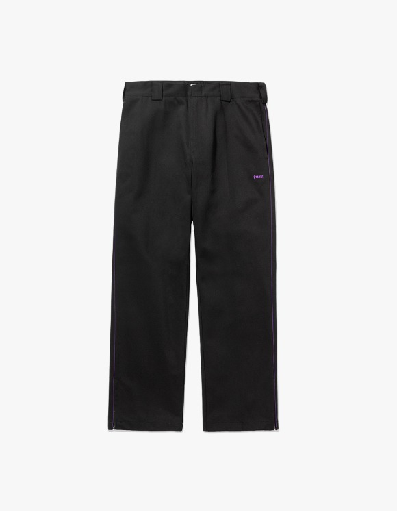 Fuzz FUZZ SIDE ZIP PANTS black | HEIGHTS. | 하이츠 온라인 스토어