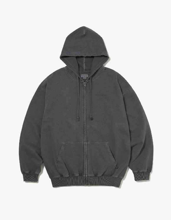 thisisneverthat DSN-Logo ZIPUP Sweat - Charcoal | HEIGHTS. | 하이츠 온라인 스토어