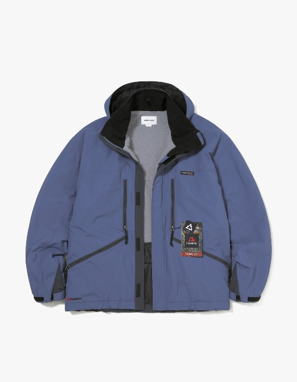 thisisneverthat POLARTEC® Field Parka - Blue | HEIGHTS. | 하이츠 온라인 스토어