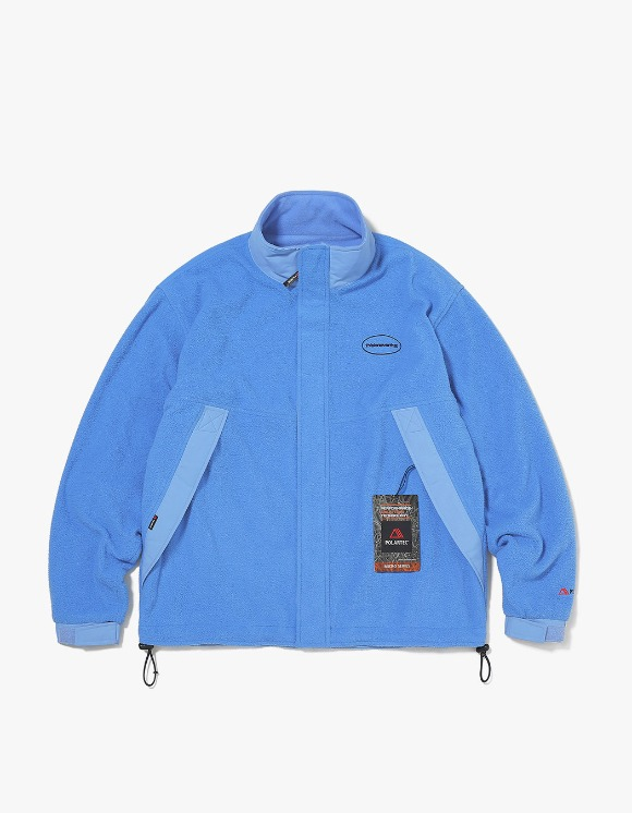 thisisneverthat POLARTEC® Fleece Jacket - Blue | HEIGHTS. | 하이츠 온라인 스토어