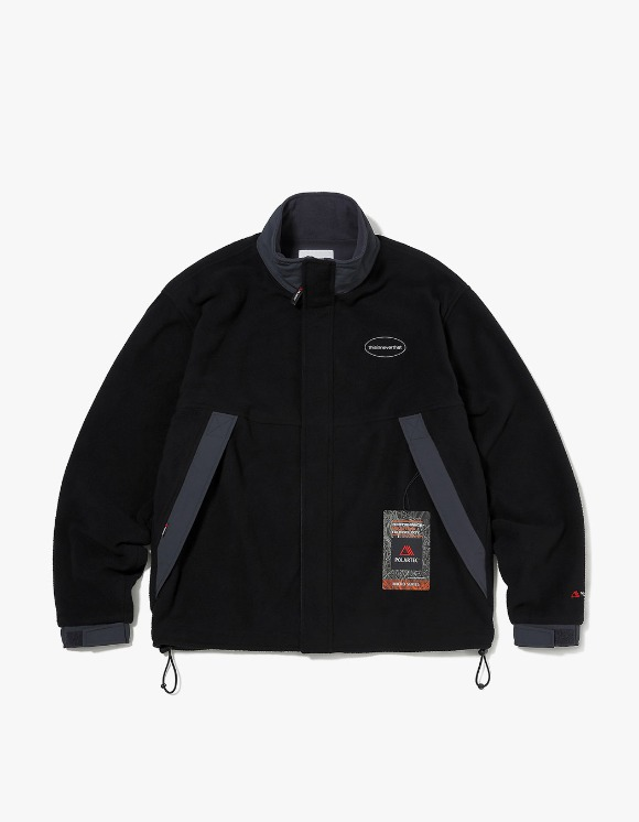 thisisneverthat POLARTEC® Fleece Jacket - Black | HEIGHTS. | 하이츠 온라인 스토어