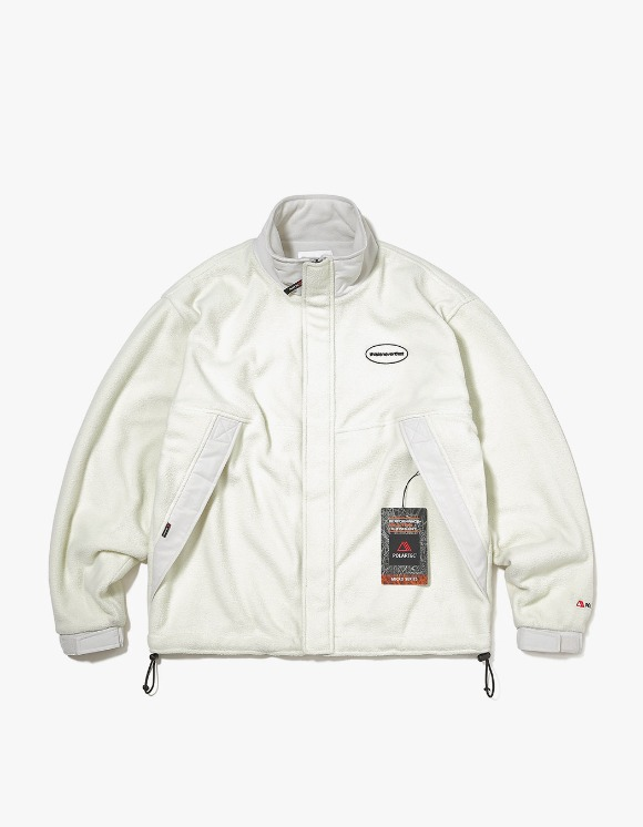 thisisneverthat POLARTEC® Fleece Jacket - Ivory | HEIGHTS. | 하이츠 온라인 스토어