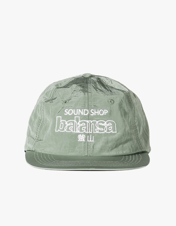 Balansa Soundshop Logo Nylon Cap - Olive | HEIGHTS. | 하이츠 온라인 스토어