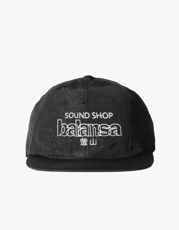 Balansa Soundshop Logo Nylon Cap - Black | HEIGHTS. | 하이츠 온라인 스토어