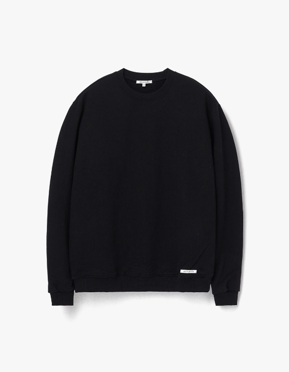 AECA WHITE Finest Cotton Sweatshirt - Black | HEIGHTS. | 하이츠 온라인 스토어