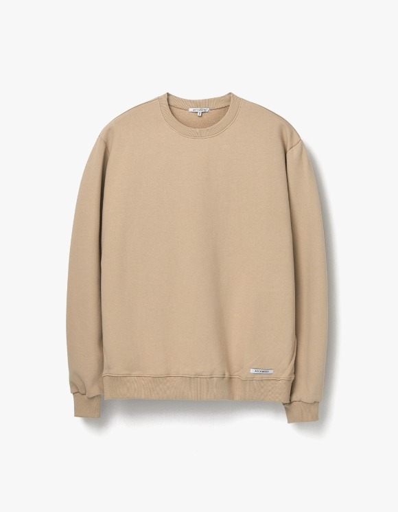 AECA WHITE Finest Cotton Sweatshirt - Beige | HEIGHTS. | 하이츠 온라인 스토어