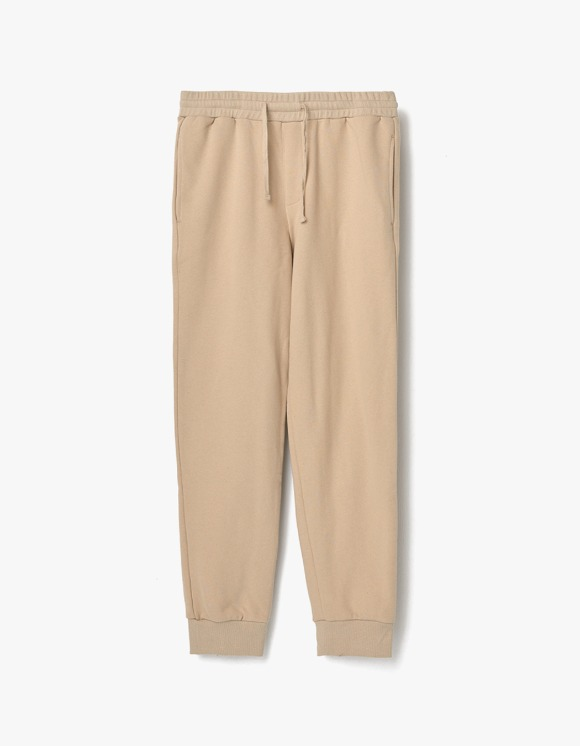 AECA WHITE Finest Cotton jogger Pants - Beige | HEIGHTS. | 하이츠 온라인 스토어