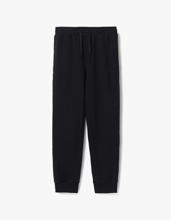 AECA WHITE Finest Cotton jogger Pants - Black | HEIGHTS. | 하이츠 온라인 스토어