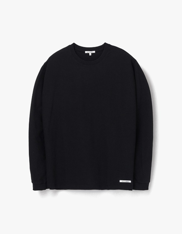 AECA WHITE Finest Cotton Long Sleeve Tee - Black | HEIGHTS. | 하이츠 온라인 스토어