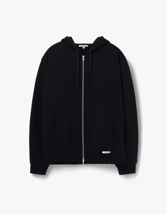 AECA WHITE Finest Cotton Zip Up Hoodie - Black | HEIGHTS. | 하이츠 온라인 스토어