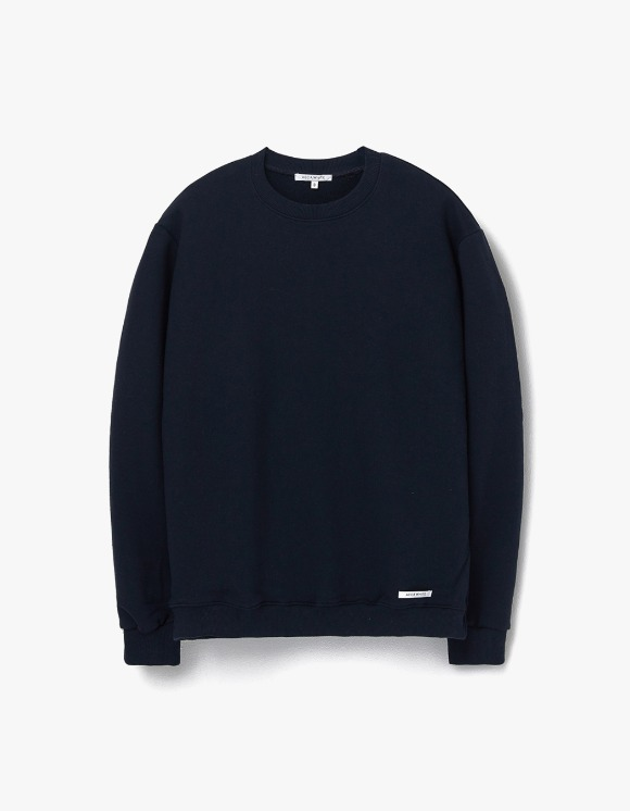 AECA WHITE Finest Cotton Sweatshirt - Deep Navy | HEIGHTS. | 하이츠 온라인 스토어