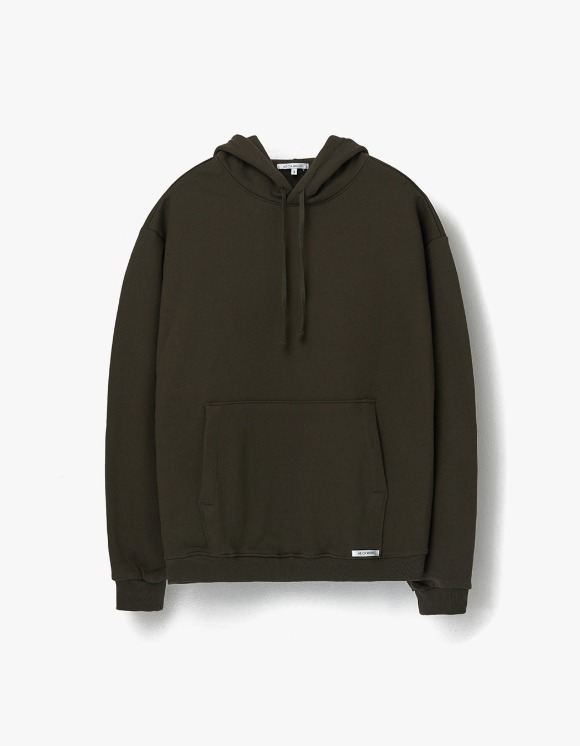 AECA WHITE Finest Cotton Pullover Hoodie - Olive | HEIGHTS. | 하이츠 온라인 스토어