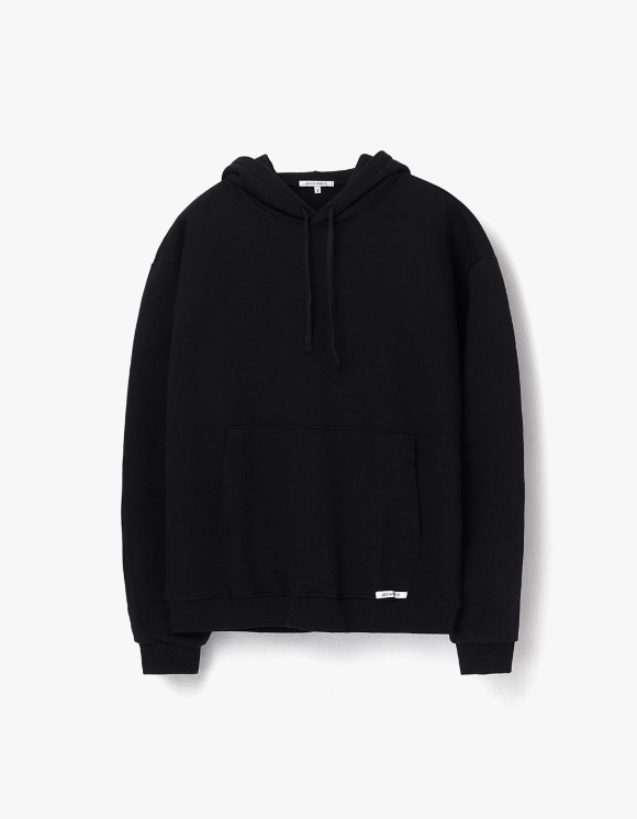 AECA WHITE Finest Cotton Pullover Hoodie - Black | HEIGHTS. | 하이츠 온라인 스토어