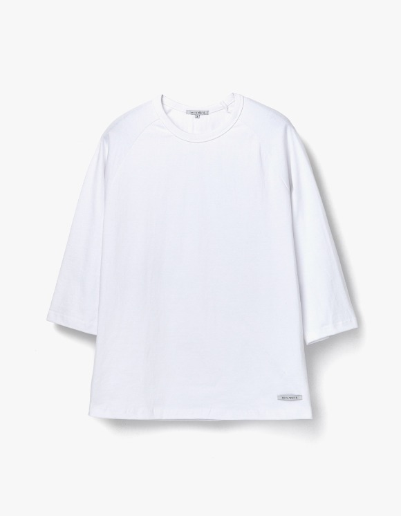 AECA WHITE Finest Cotton Raglan Tee - White | HEIGHTS. | 하이츠 온라인 스토어