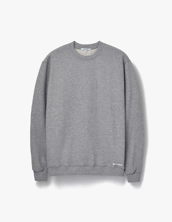 AECA WHITE Finest Cotton Sweatshirt - Grey | HEIGHTS. | 하이츠 온라인 스토어
