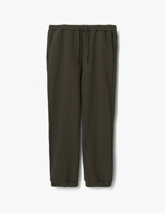 AECA WHITE Finest Cotton Sweatpants - Olive | HEIGHTS. | 하이츠 온라인 스토어
