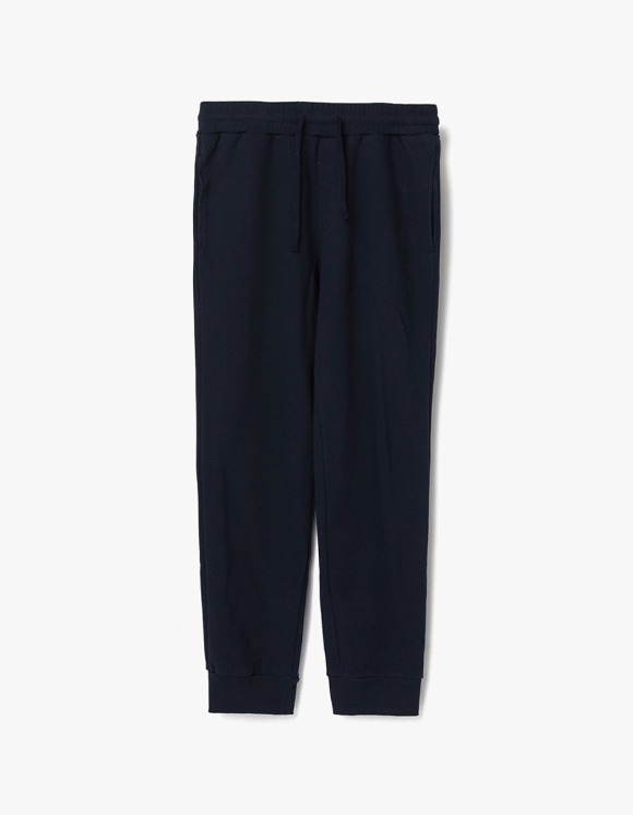 AECA WHITE Finest Cotton jogger Pants - Deep Navy | HEIGHTS. | 하이츠 온라인 스토어
