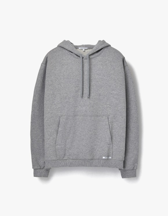 AECA WHITE Finest Cotton Pullover Hoodie - Grey | HEIGHTS. | 하이츠 온라인 스토어