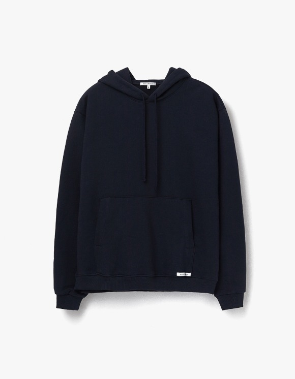 AECA WHITE Finest Cotton Pullover Hoodie - Deep Navy | HEIGHTS. | 하이츠 온라인 스토어