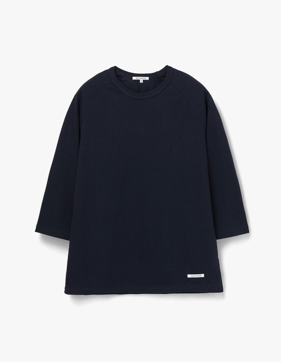 AECA WHITE Finest Cotton Raglan Tee - Deep Navy | HEIGHTS. | 하이츠 온라인 스토어
