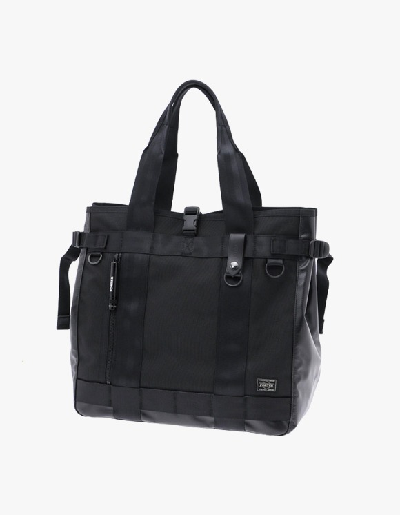PORTER [703-06971] Heat Tote Bag - Black | HEIGHTS. | 하이츠 온라인 스토어