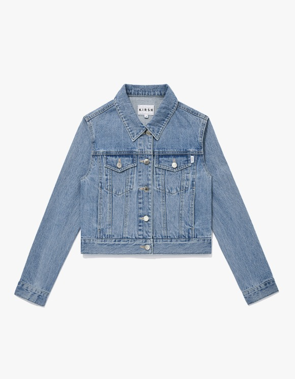 KIRSH KIRSH Denim Trucker Jacket JS - Light Blue | HEIGHTS. | 하이츠 온라인 스토어