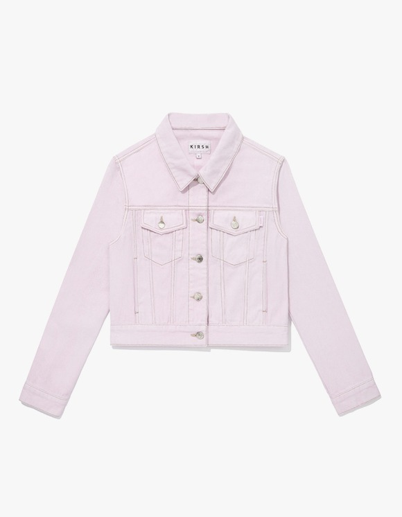 KIRSH KIRSH Denim Trucker Jacket JS - Light Pink | HEIGHTS. | 하이츠 온라인 스토어