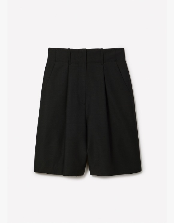 s/e/o [3월 16일] Light Bermuda Shorts - Black | HEIGHTS. | 하이츠 온라인 스토어