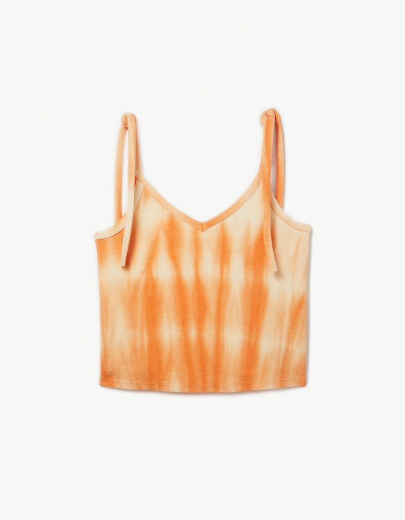 s/e/o Hand Dye Sleeveless - Orange | HEIGHTS. | 하이츠 온라인 스토어
