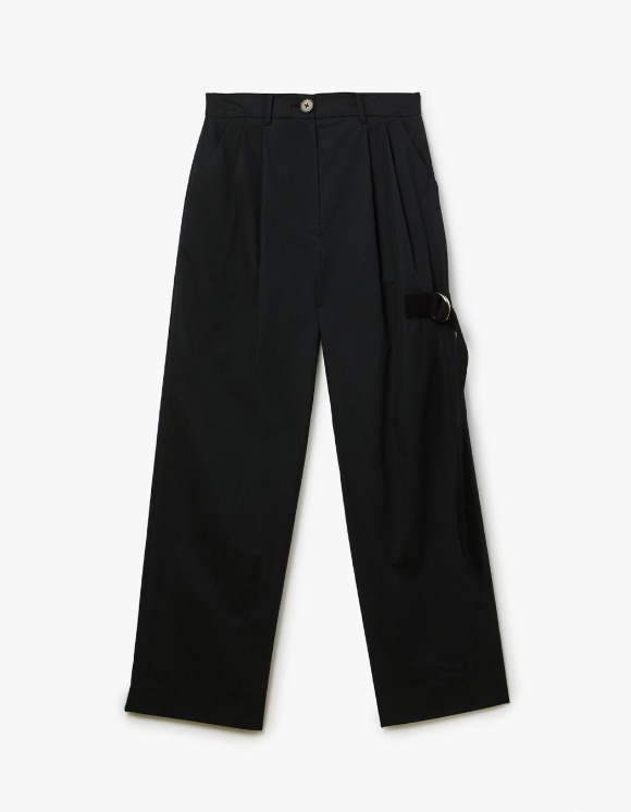 s/e/o Buckle Strap Pants - Black | HEIGHTS. | 하이츠 온라인 스토어