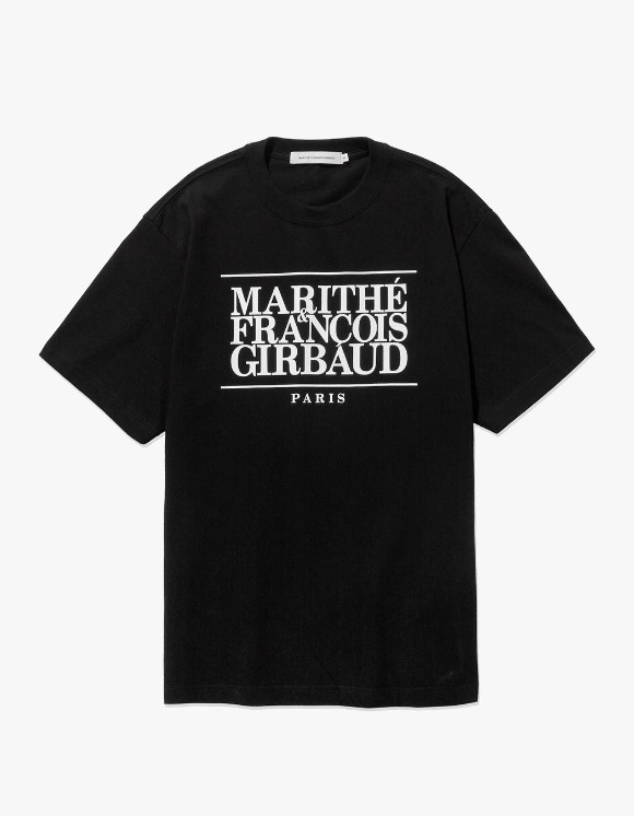 Marith+Franois Girbaud MFG CLASSIC LOGO TEE black | HEIGHTS. | 하이츠 온라인 스토어