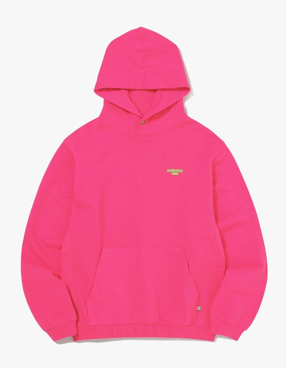 thisisneverthat DESIGN Hooded Sweatshirt - Pink | HEIGHTS. | 하이츠 온라인 스토어