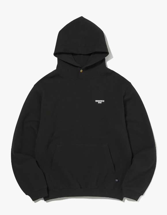 thisisneverthat DESIGN Hooded Sweatshirt - Black | HEIGHTS. | 하이츠 온라인 스토어