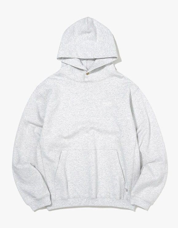 thisisneverthat DESIGN Hooded Sweatshirt - Light Grey | HEIGHTS. | 하이츠 온라인 스토어